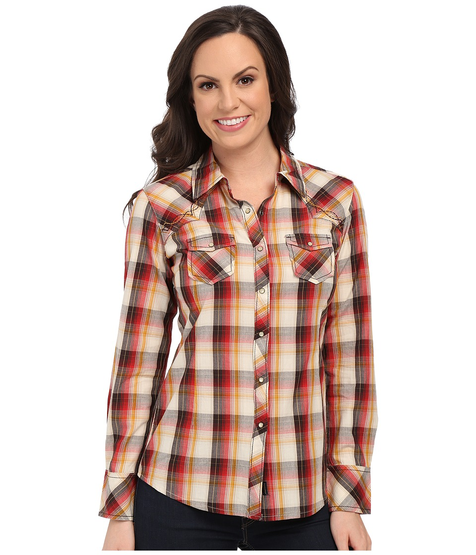 Ariat - Florence Snap Shirt (Multi) Women's Long Sleeve Button Up