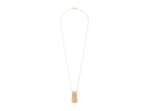 gorjana - Faryn Fringe Necklace (Gold) Necklace