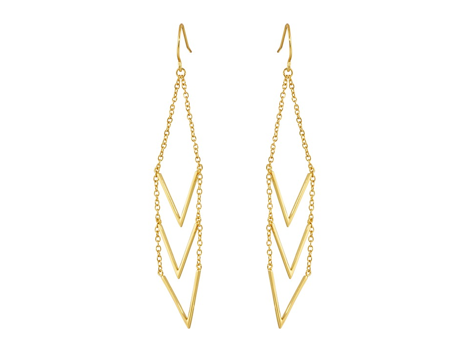 gorjana - Morrison Earrings (Gold) Earring