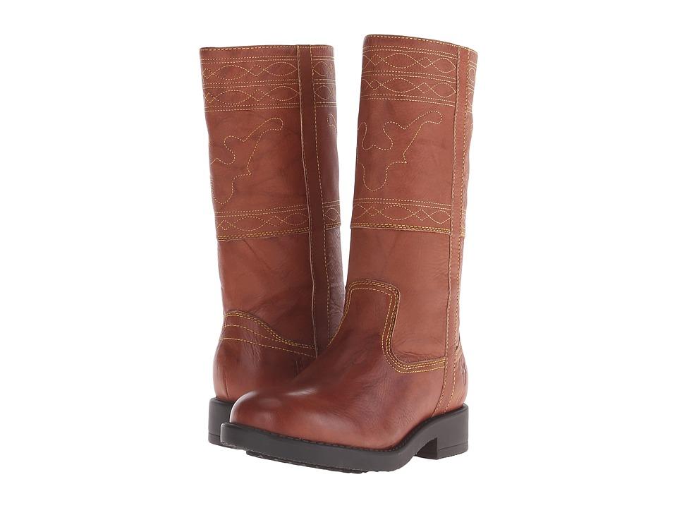 Frye Kids - Campus Stitching Horse (Little Kid/Big Kid) (Saddle) Kids Shoes
