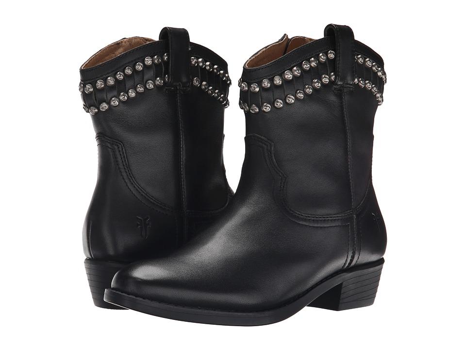 Frye Kids Diana Cut Stud (Little Kid/Big Kid) (Black) Girls Shoes