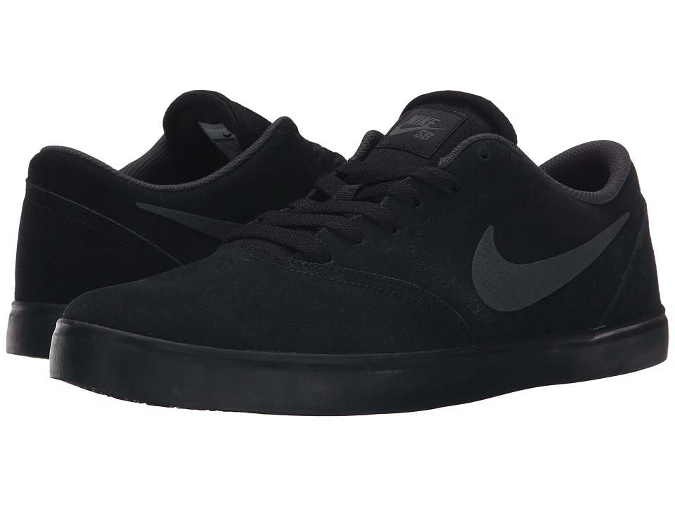 all black skate shoes
