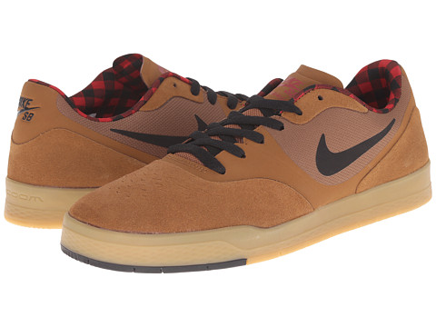 Nike SB - Paul Rodriguez 9 CS (Ale Brown/Gym Red/Black/Black) Men