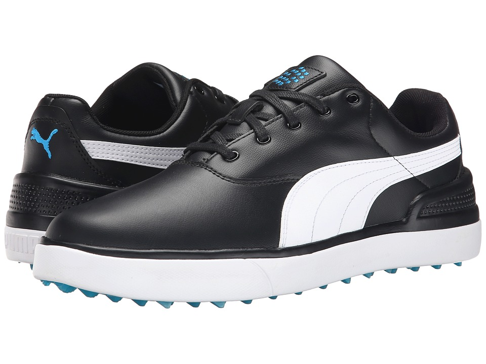 PUMA Golf - Monolite V2 (Black/White/Cloisonn ) Men's Golf Shoes