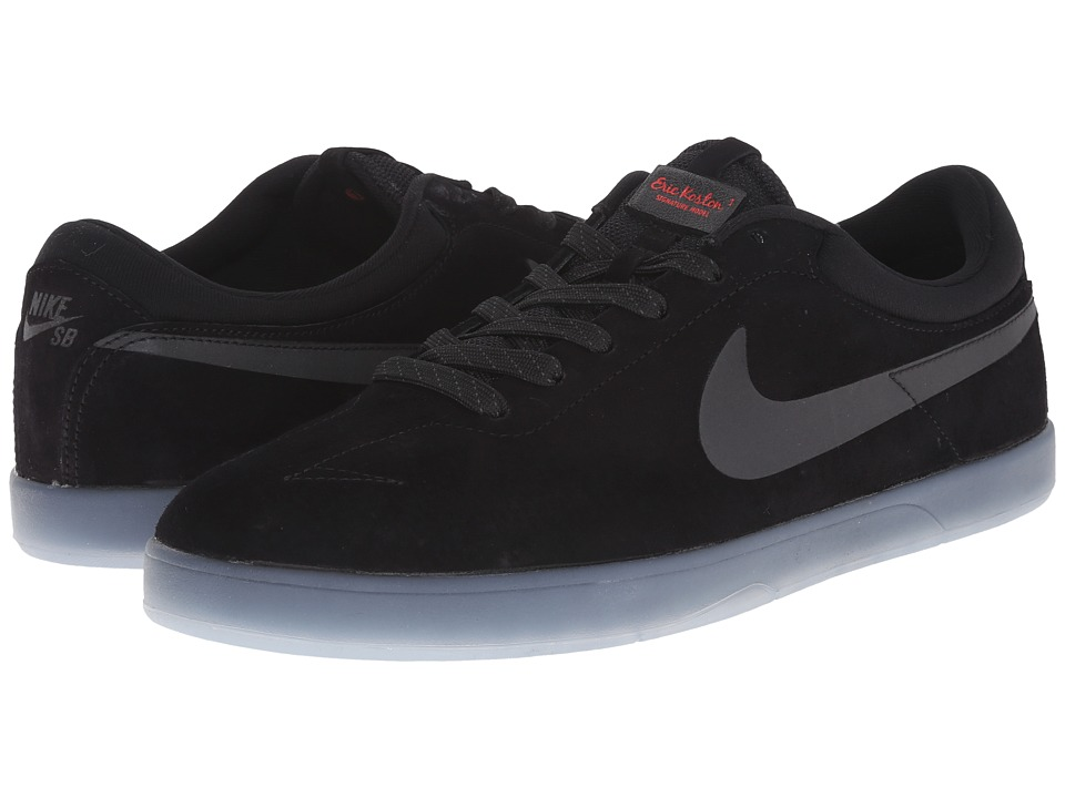 Nike SB - Zoom Eric Koston Flash (Black/Clear/Light Crimson/Black) Men