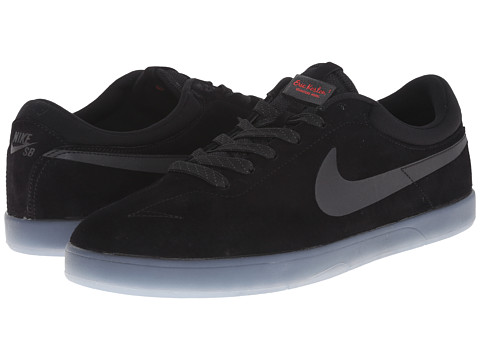 Nike SB - Zoom Eric Koston Flash (Black/Clear/Light Crimson/Black) Men's Skate Shoes
