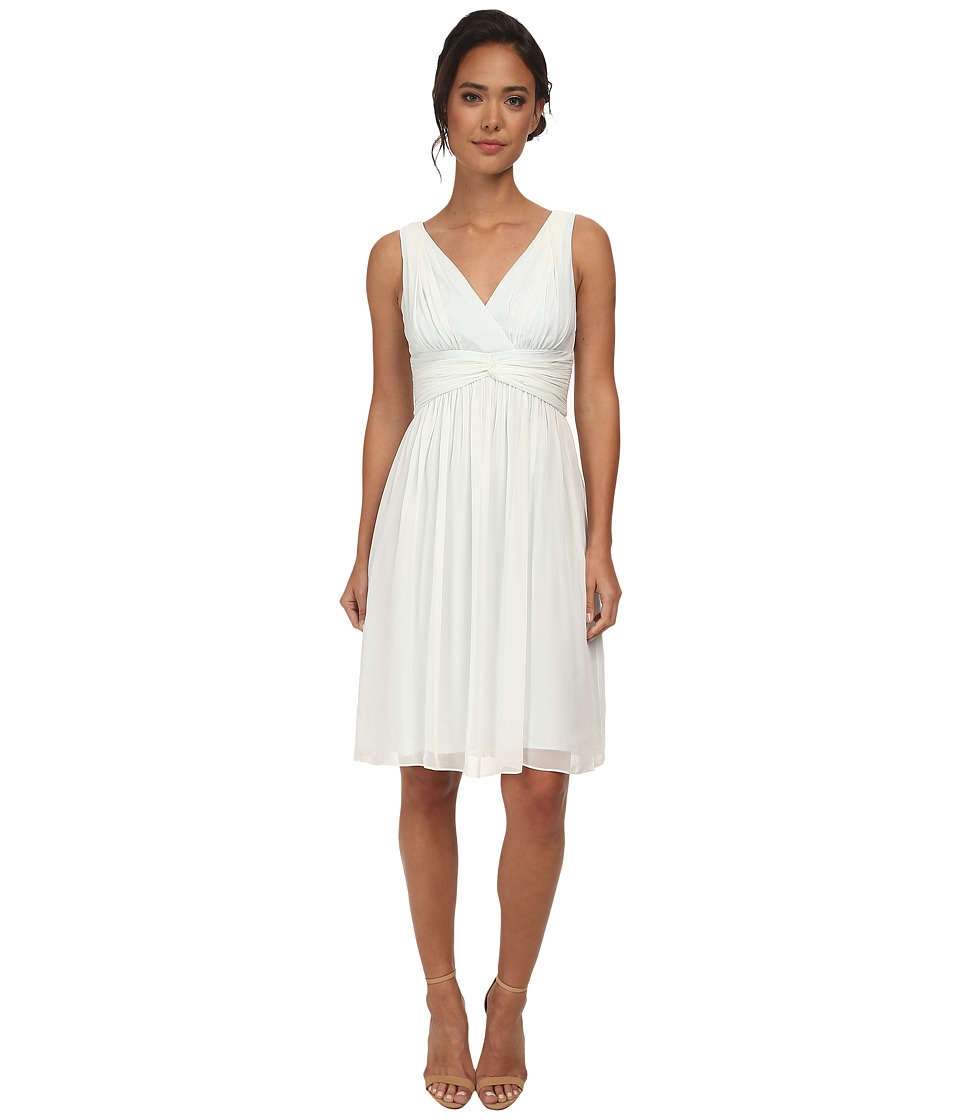 Donna Morgan - Jessie Short Bra Friendly Chiffon Dress (Hint of Mint) Women's Dress