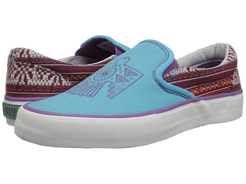 Gypsy SOULE - Southwest Bird (Turquoise) Women's Slip on Shoes