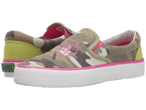 Gypsy SOULE - Be Brave (Camo) Women's Slip on Shoes