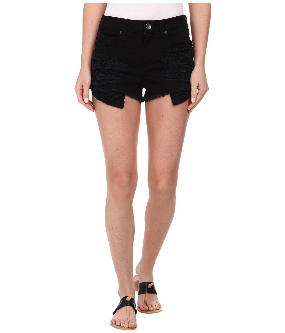 dollhouse - Crochet Shorts (Black) Women's Shorts