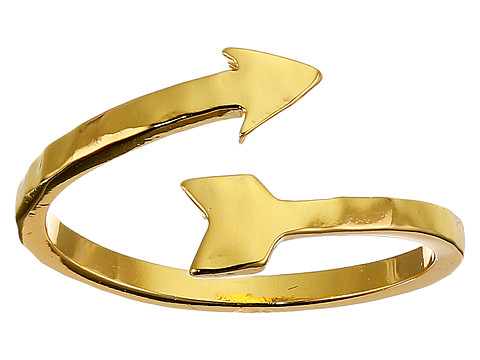 gorjana - Wrap Arrow Midi Ring (Gold) Ring