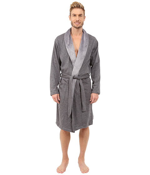 UGG - Robinson Robe (Granite Heather) Men's Robe