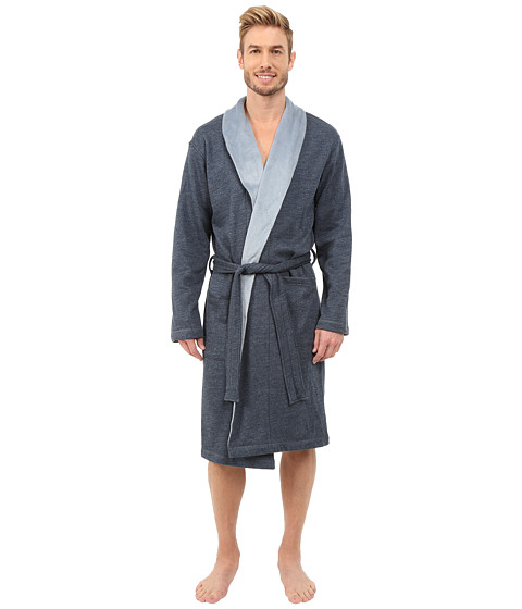 UGG - Robinson Robe (Blue Jay Heather) Men