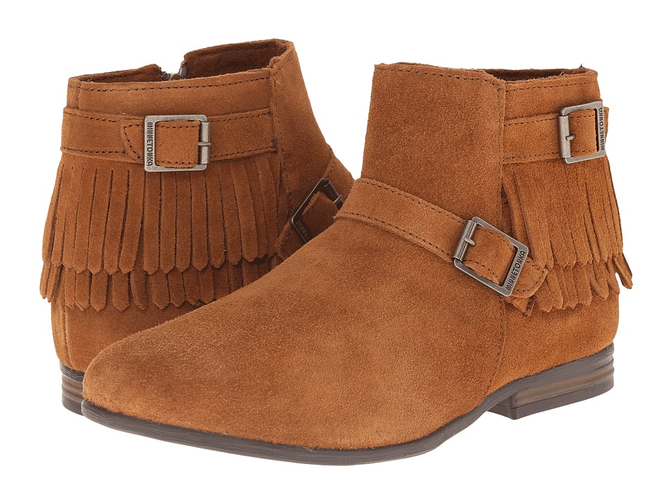 Minnetonka Rancho Boot (Brown Suede) Women