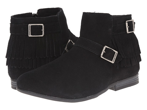 Minnetonka - Rancho Boot (Black Suede) Women