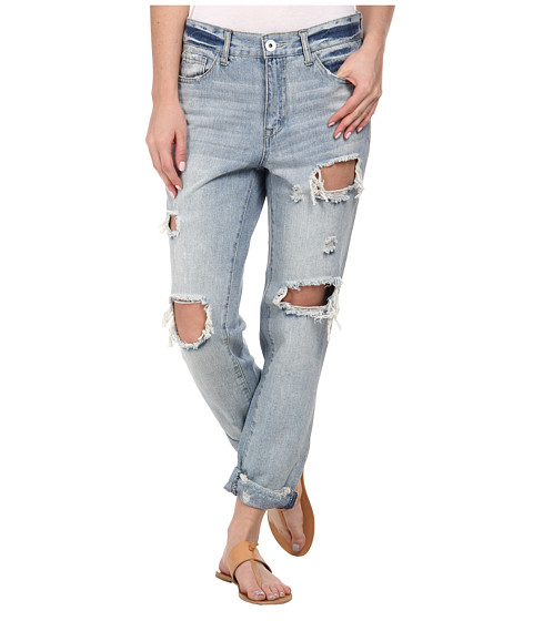 dollhouse - Slim Boyfriend Jeans in Summer Love (Summer Love) Women's Jeans