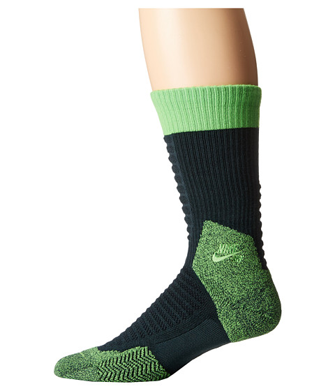 Nike SB - Skate Crew 2.0 Sock (Seaweed/Green Pulse/Green Pulse) Crew Cut Socks Shoes