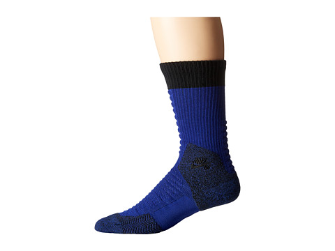 Nike SB - Skate Crew 2.0 Sock (Deep Royal Blue/Black/Black) Crew Cut Socks Shoes