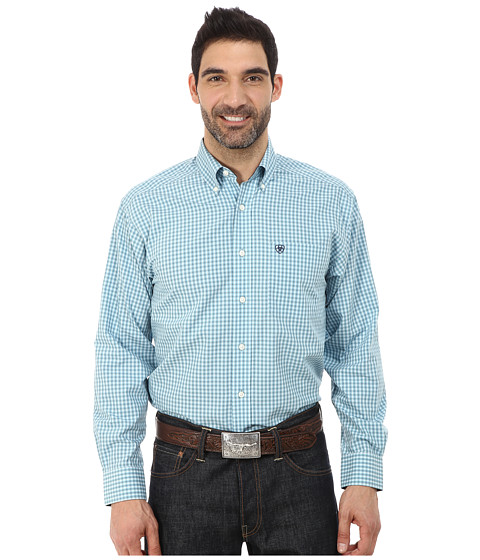 Ariat - Amos Shirt (Stillwater) Men's Long Sleeve Button Up