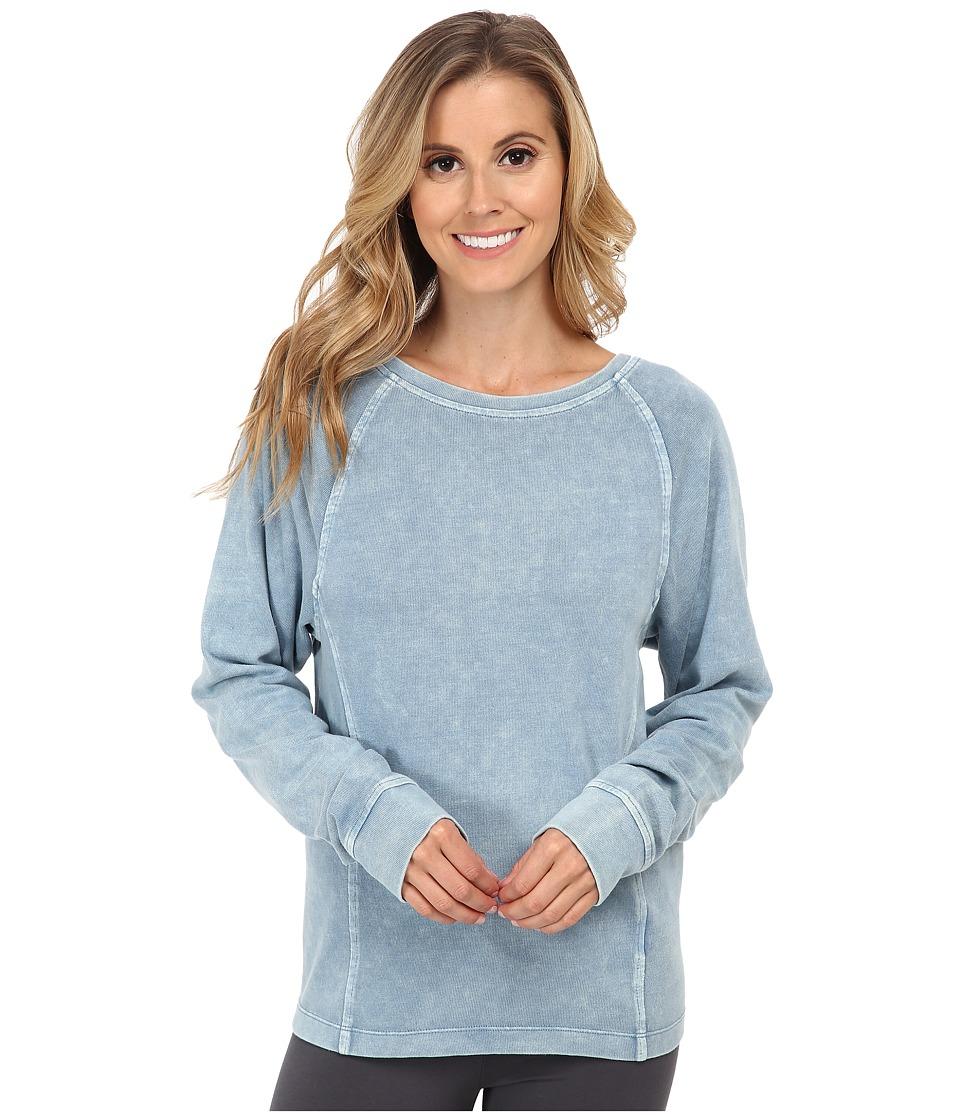 UGG - Enid Raglan Sleeve Pullover (Blue Jay) Women's Long Sleeve Pullover