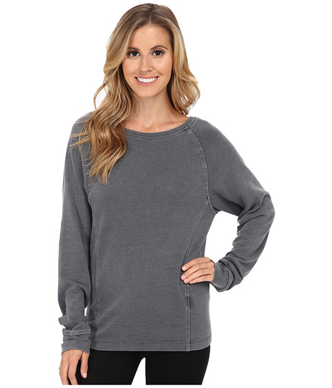 UGG - Enid Raglan Sleeve Pullover (Black Bear) Women