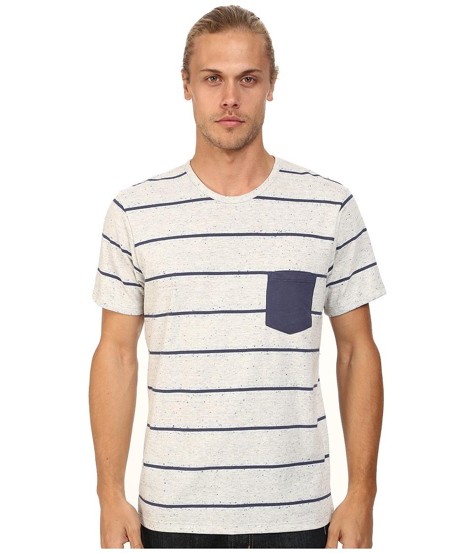 Alternative - Nep Jersey Pocket Crew (Eco Wheat Stripe) Men