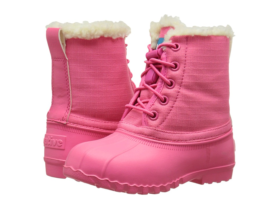 Native Kids Shoes - Jimmy Winter (Toddler/Little Kid) (Hollywood Pink/Hollywood Pink) Girls Shoes