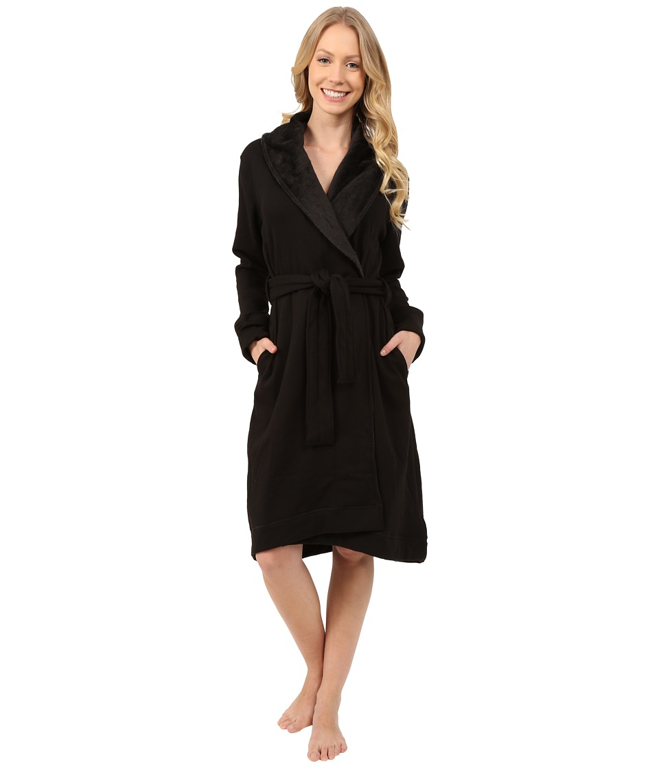 UGG - Allinda Robe (Black) Women's Robe