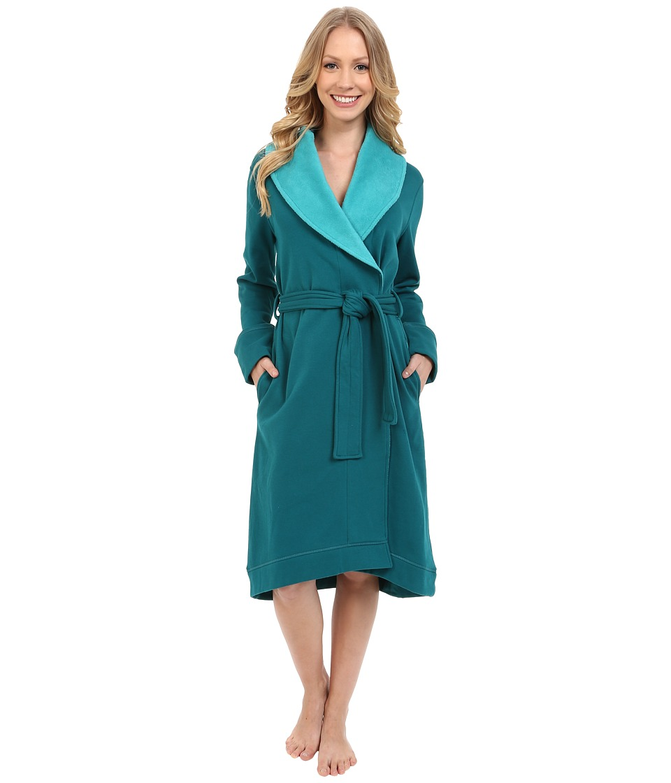 UGG - Allinda Robe (Deep Teal) Women's Robe