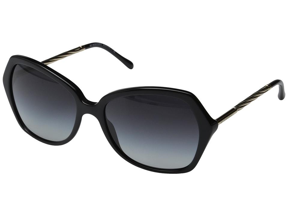 Burberry - BE4193 (Black/Gradient Grey) Fashion Sunglasses