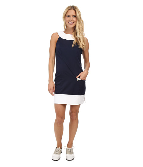 Fairway Fox - Kristin Dress (Navy) Women's Dress
