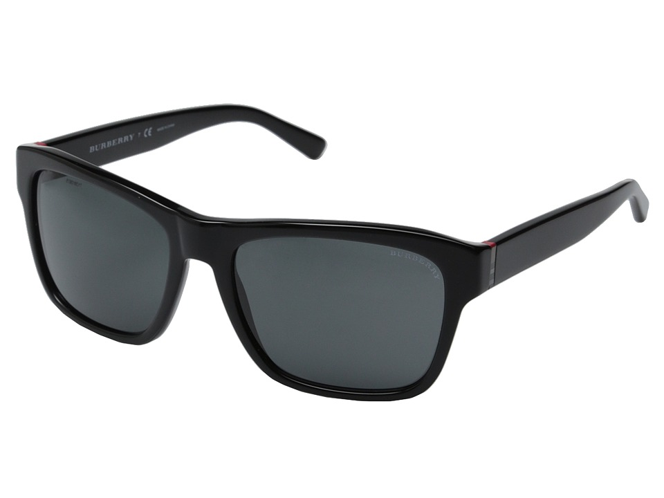 Burberry - BE4194 (Black/Grey) Fashion Sunglasses