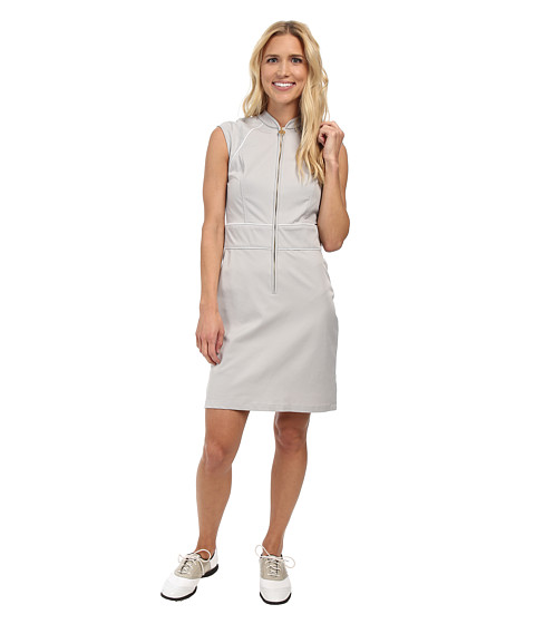 Fairway Fox - Georgia Dress (Steele/White) Women's Dress