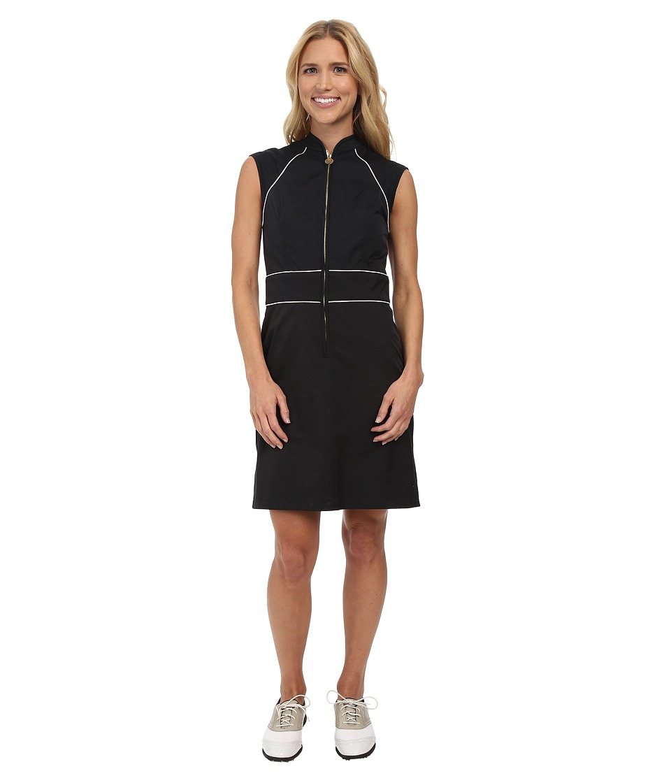 Fairway Fox - Georgia Dress (Black/White) Women's Dress
