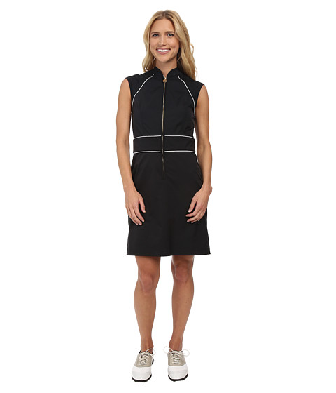 Fairway Fox - Georgia Dress (Black/White) Women
