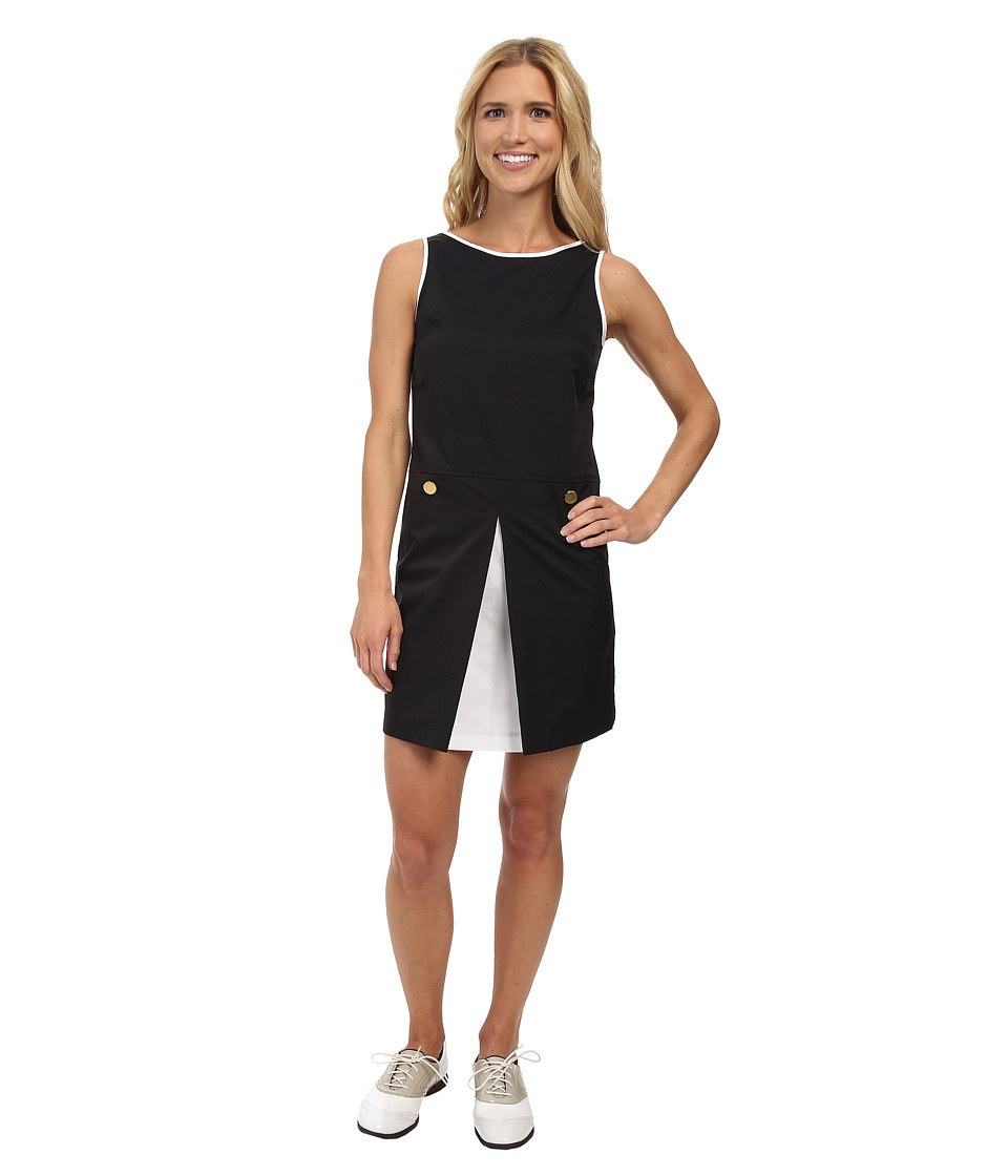 Fairway Fox - Chloe Dress (Black/White) Women's Dress