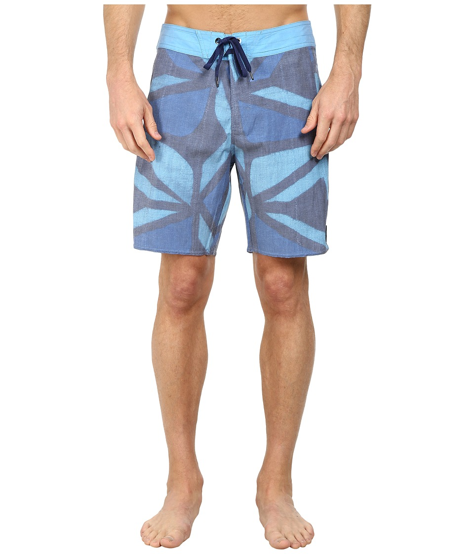 Volcom - Muddy Cloth Boardshorts (Matured Blue) Men's Swimwear