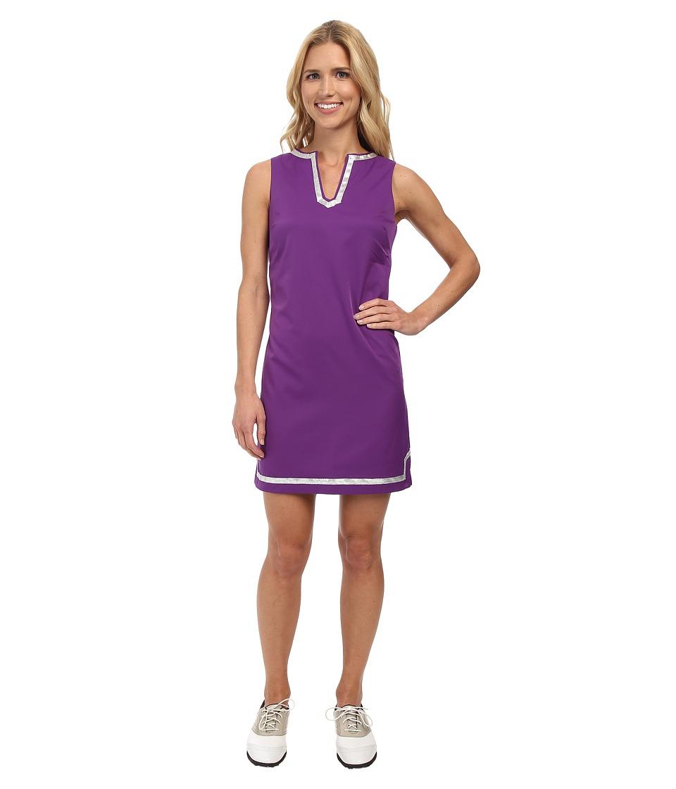 Fairway Fox - Caroline Dress (Amaranth/Silver Trim) Women