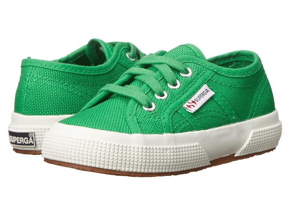 Superga Kids - 2750 JCOT Classic (Infant/Toddler/Little Kid/Big Kid) (Island Green) Kids Shoes