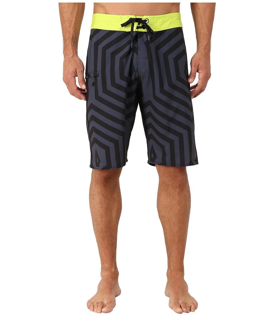 Volcom - Mod Dop Boardshorts (Black) Men's Swimwear
