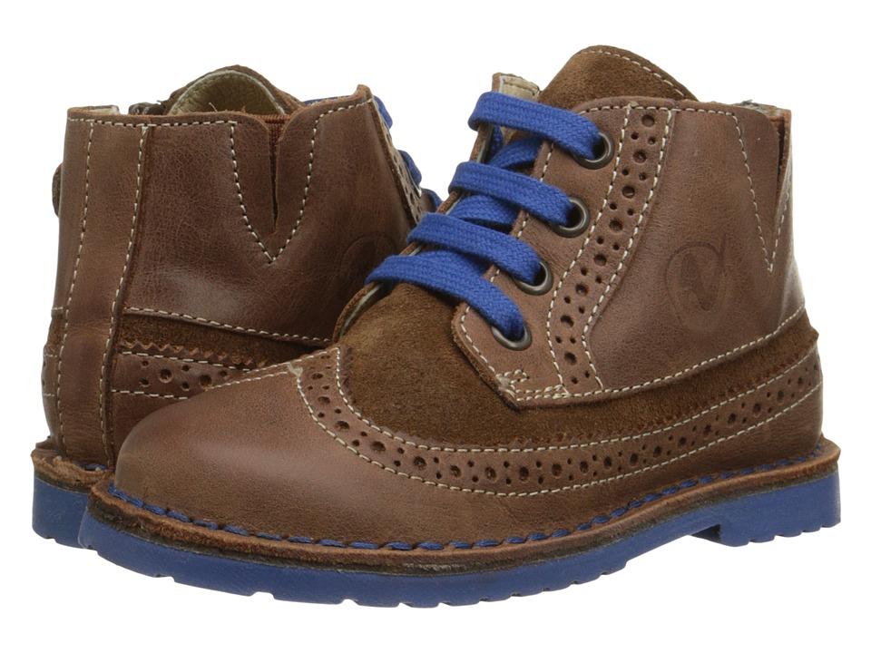 Naturino - Nat. 3979 (Toddler/Little Kid/Big Kid) (Cognac) Boy's Shoes