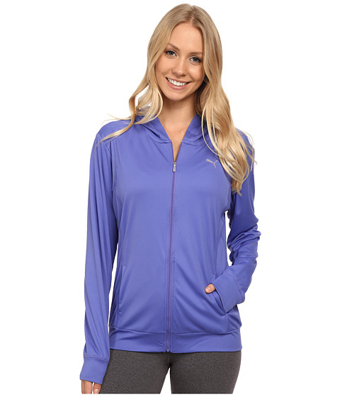 PUMA - Gym Loose Cover-Up (Blue Iris) Women's Sweatshirt