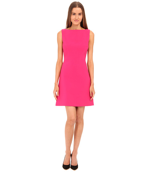 Kate Spade New York - Stretch Crepe A-Line Dress (Sweetheart Pink) Women's Dress