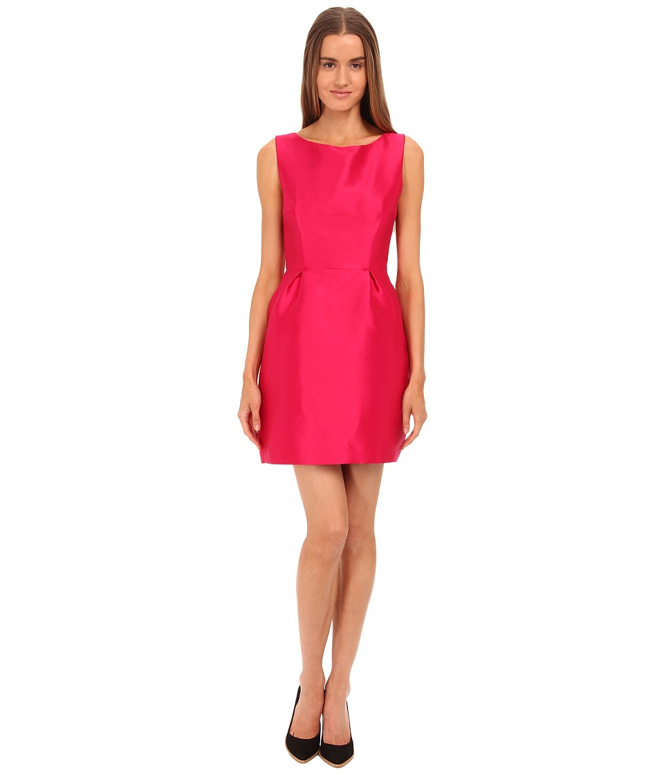 Kate Spade New York - Flirty Back Mini Dress (Sweetheart Pink) Women's Dress