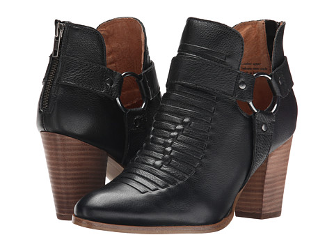 Seychelles - Impossible (Black Leather) Women