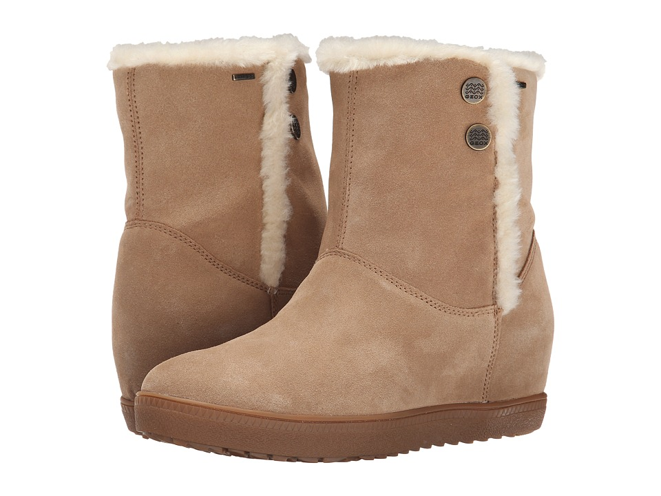 Geox - D Amaranth High B Abx 4 (Camel) Women's Boots