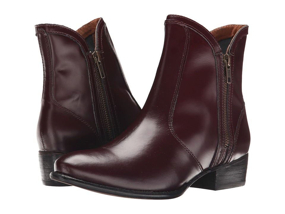 Seychelles - Lucky Penny (Oxblood Box Leather) Women