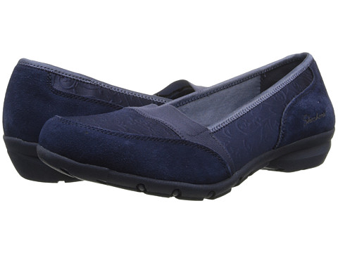 SKECHERS - Career - Substitute (Navy) Women's Slip on Shoes