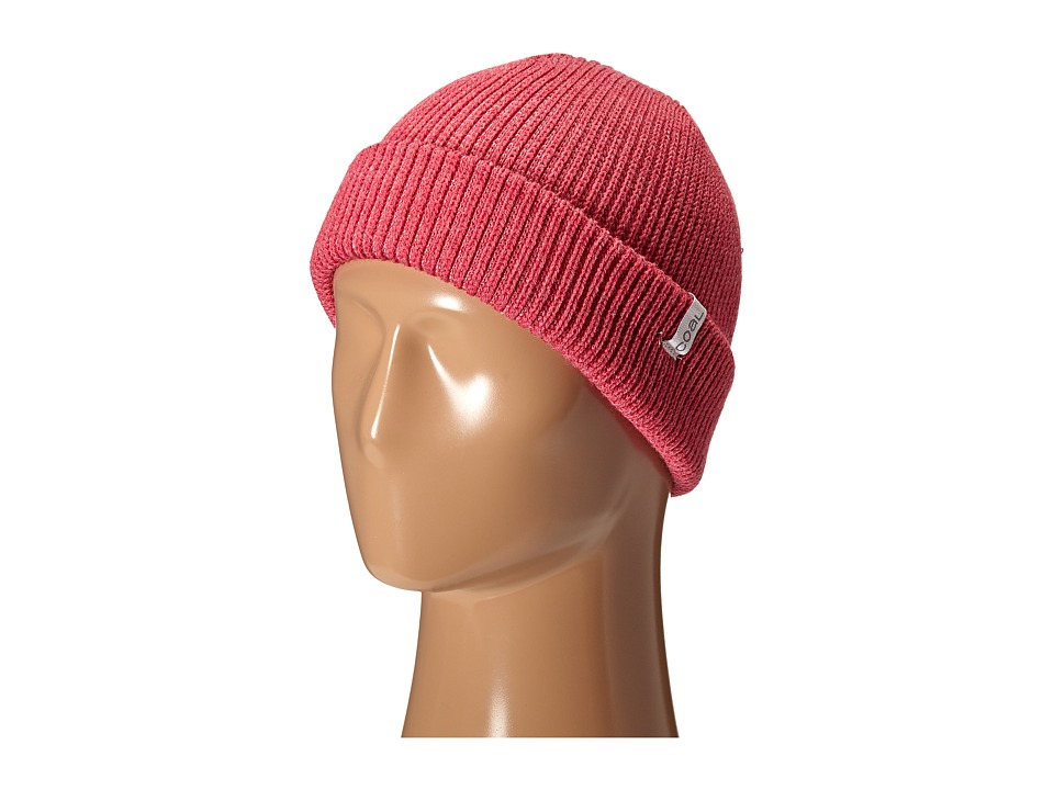 Coal - The Frena Solid (Heather Pink) Beanies