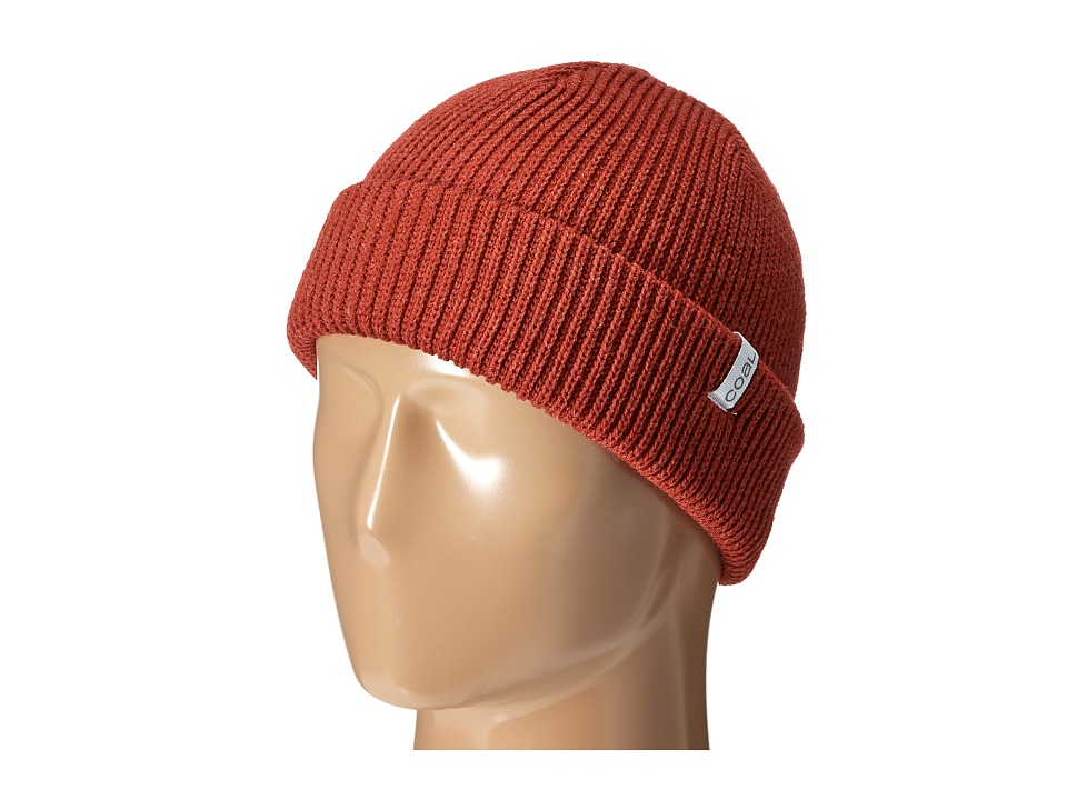 Coal - The Frena Solid (Heather Red) Beanies
